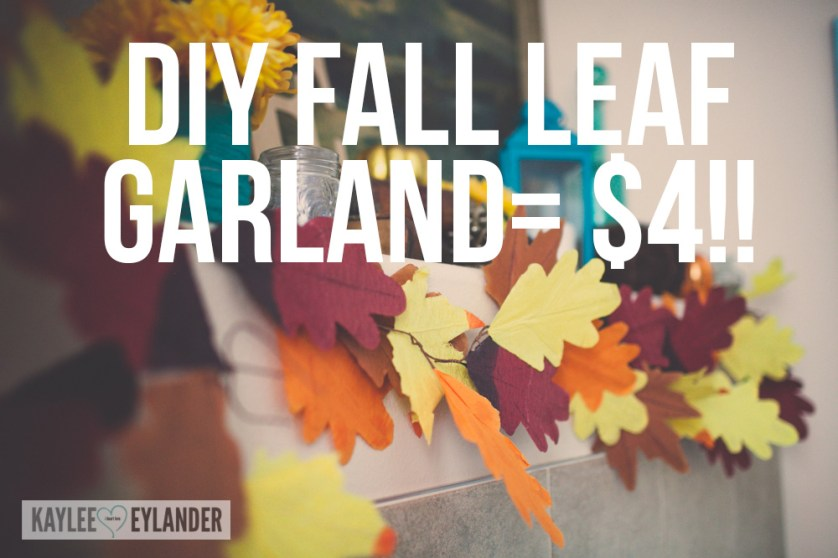 DIY Fall Leaves Dollar Store -7