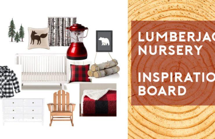 Lumberjack Nursery Inspiration Board
