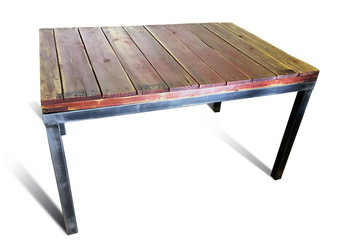 Denver Colorado Industrial Furniture Reclaimed Wood Dining Table Modern By  Kb Furnishings In Denver Colorado - Denver Colorado Industrial Furniture Reclaimed Wood Dining Table