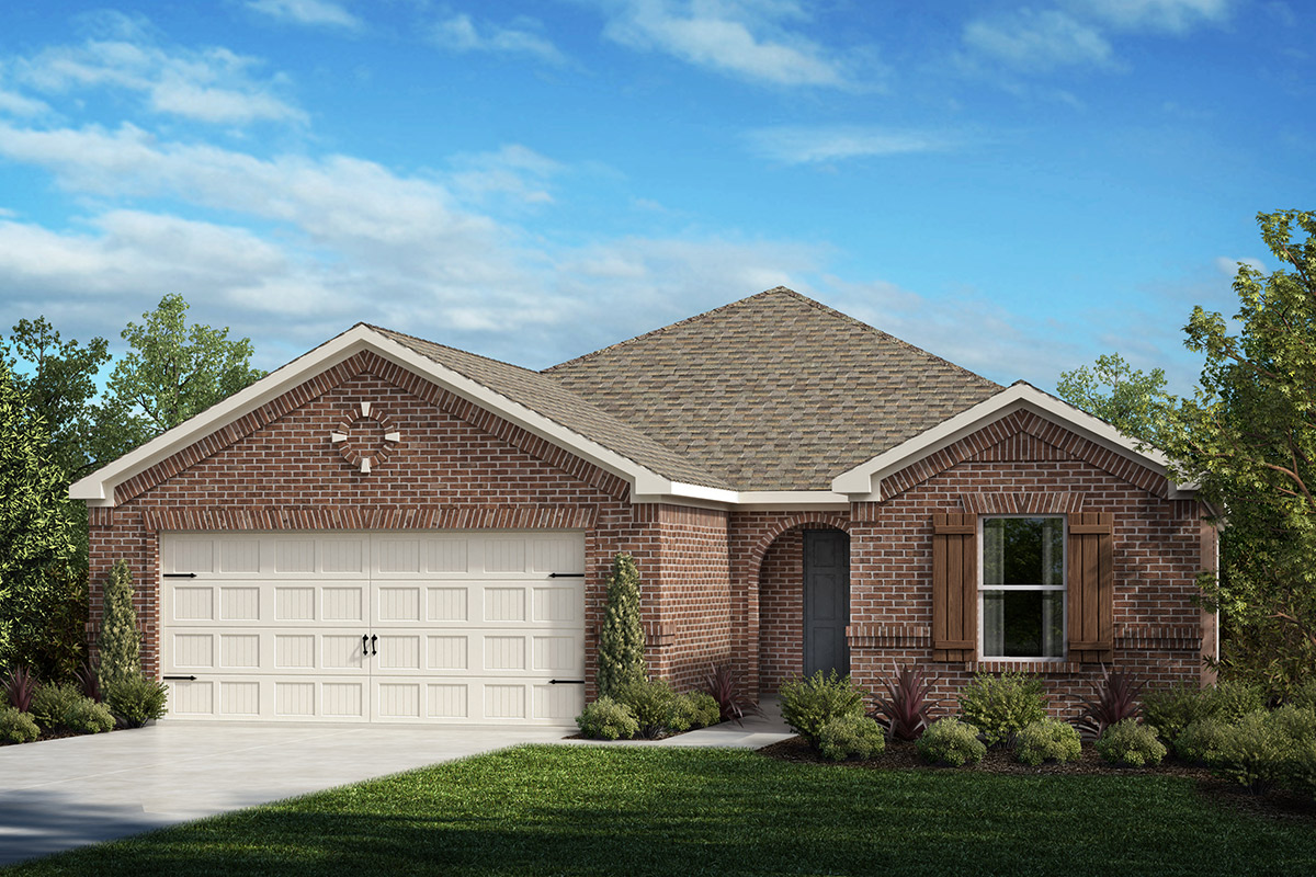 Plan 1813 – New Home Floor Plan in Winn Ridge by KB Home