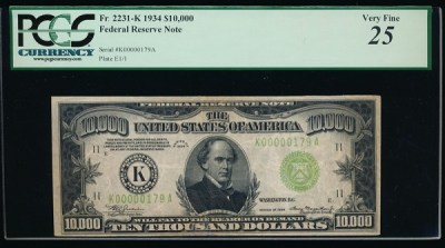 KD Currency Inc $500 & $1000 Federal Reserve Notes | High Denomination Notes | US Paper Money ...