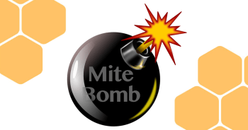 mite bomb treatment free beekeeping