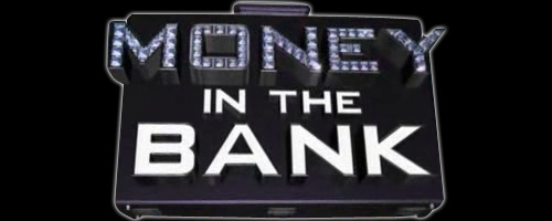 WWE Money in the Bank Wrestlemania Logo