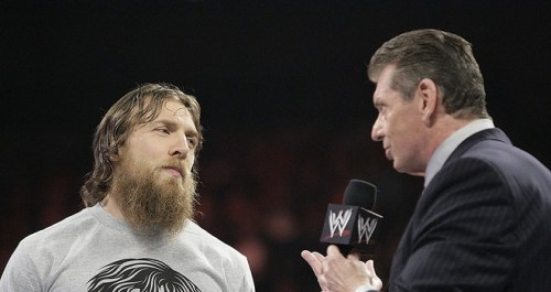 Daniel Bryan and Vince McMahon