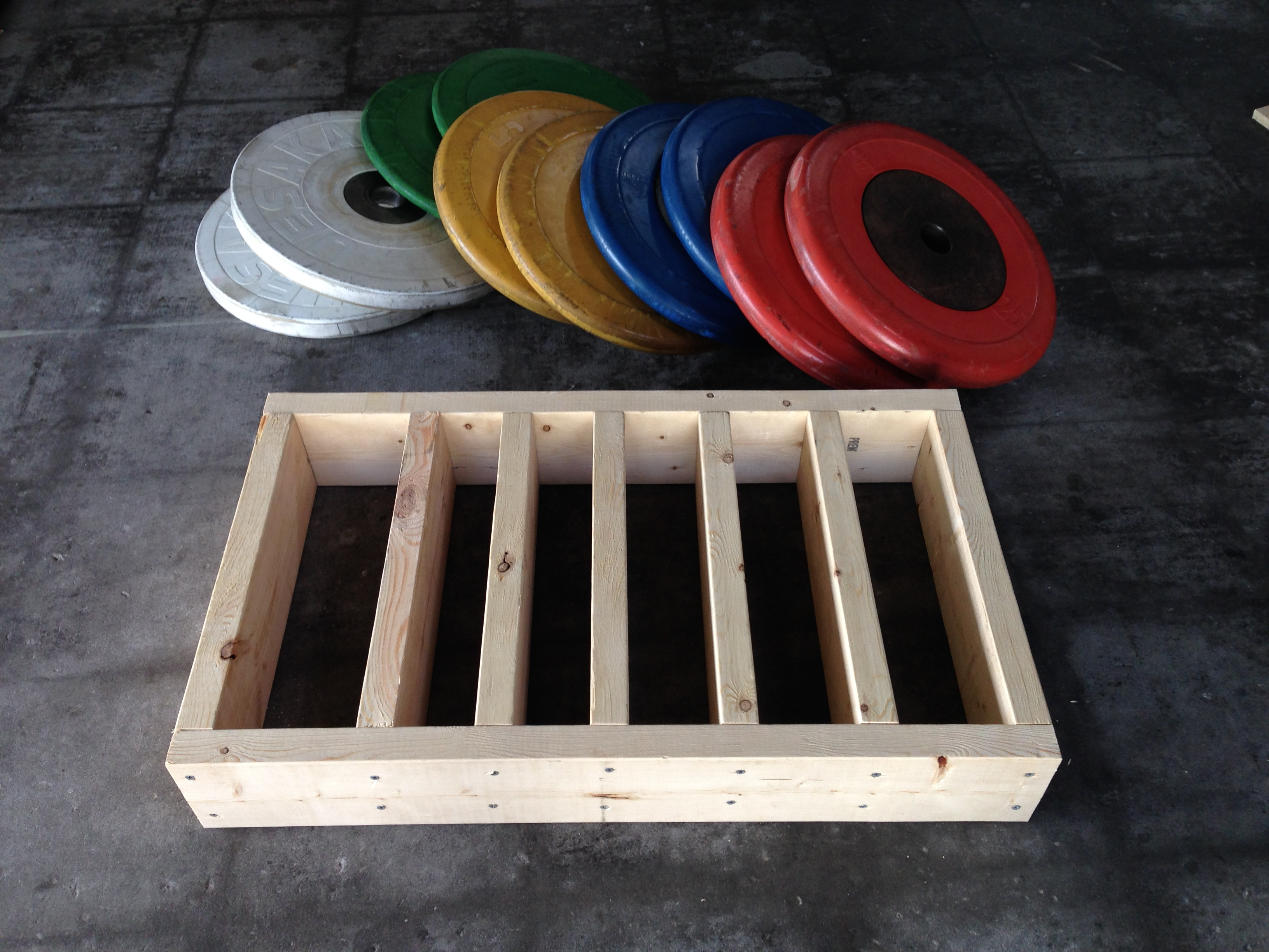 DIY: Rolling Weight Trays | Olympic Weightlifting Coach, Barbell ...