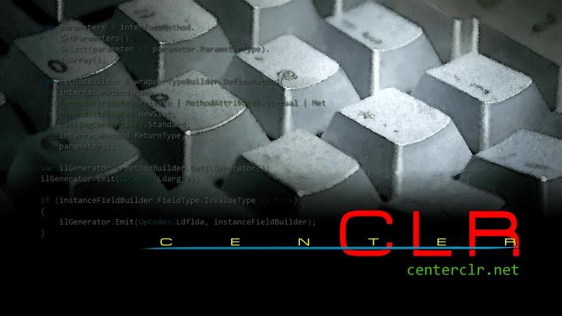 Center CLR 公式ページ