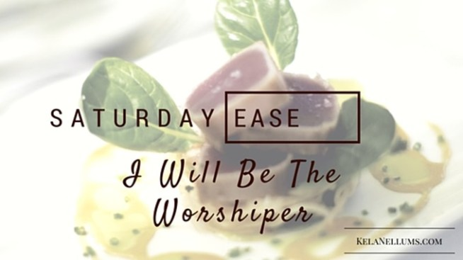 Pursuing What Is Excellent -- Saturday Ease