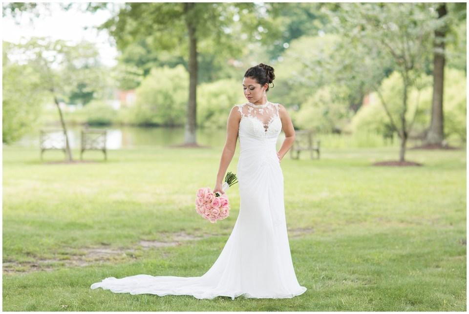 beautiful lace Italian wedding dress