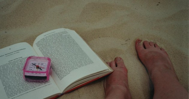 #tbt Toes in the Sand but NO PEDI. Also, The Beauty Myth then and now.