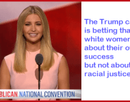 Ivanka Trump is Calling All White Women