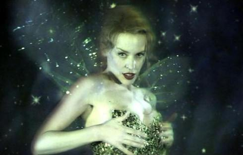 """Kylie Minogue as the absinthe fairy in """"Moulin Rouge"""""""