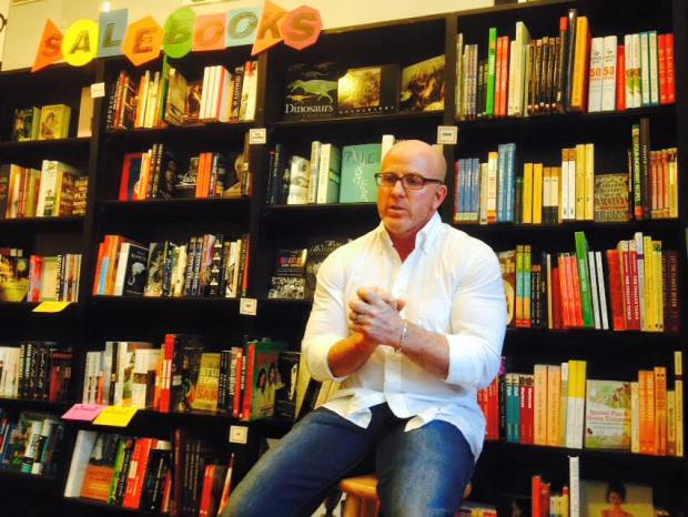 Scott speaking about his debut novel The Lemoncholy Life of Annie Aster.
