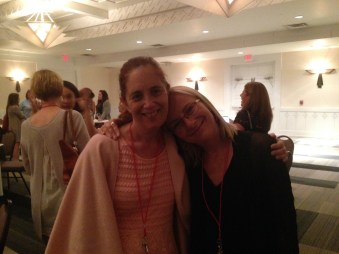 Squee number 1: Me with author Barbara Claypole White!