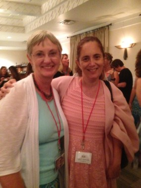 Squee number 3: Me with author Kathryn Craft!