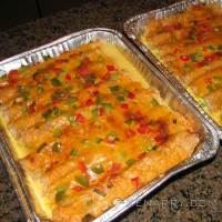 Breakfast Enchiladas: Festive Make-Ahead Christmas Brunch