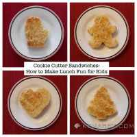 Cookie Cutter Sandwiches: How to Make Lunch Fun for Kids