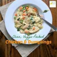 Clean, Veggie-Packed Chicken and Dumplings