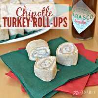 Delicious Party Food: Chipotle Turkey Roll-ups