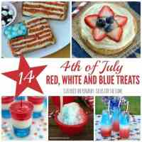 4th of July Recipes: 14 Red, White and Blue Treat Ideas