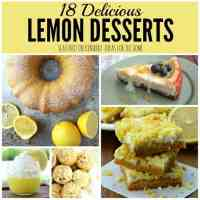Lemon Desserts: 18 Delicious Recipes You've Got to Try