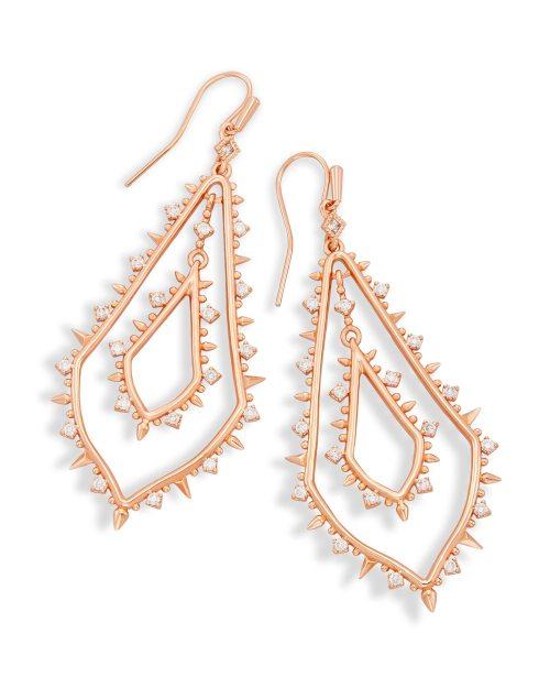 Medium Of Rose Gold Earrings