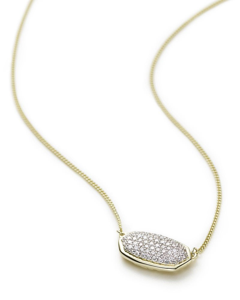 Large Of Diamond Pendant Necklace
