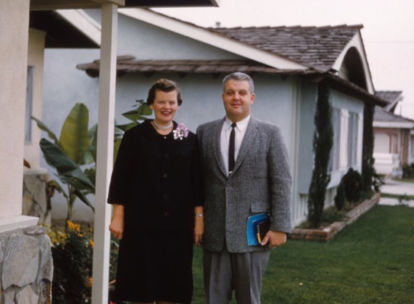 Mom and Dad 1962 La Habra