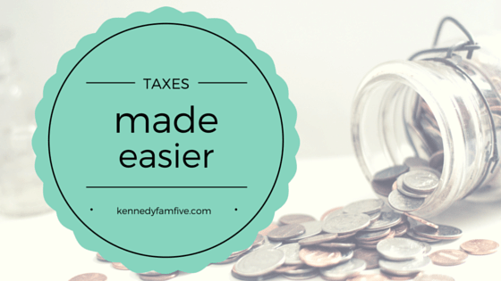 Tax Time Made Easier