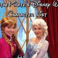 Master List of Disney World Character Locations