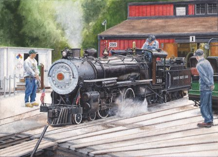 Steam at Swanton Pacific