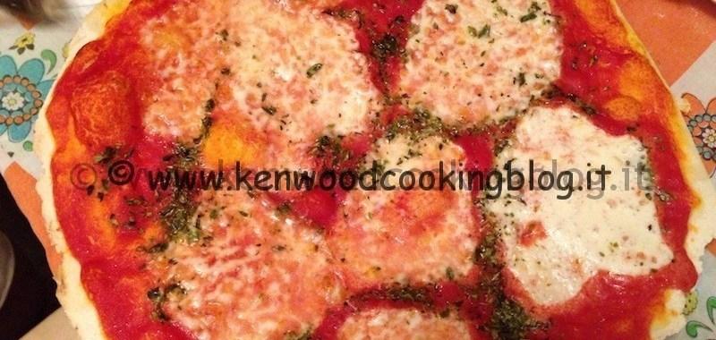 Ricetta della Pizza e lievitazione con Kenwood Cooking Chef