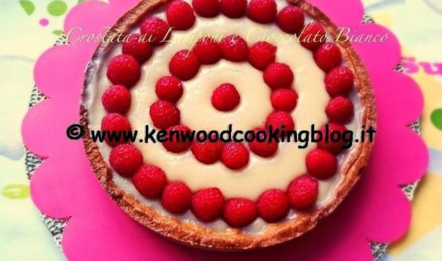 Ricetta crostata ai Lamponi e Cioccolato Bianco con Kenwood