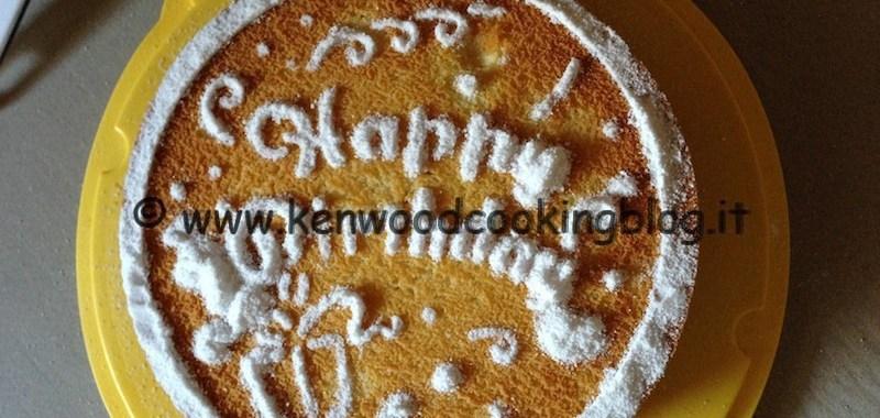 Ricetta torta soffice al limone Kenwood