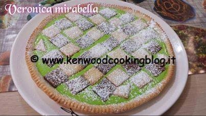 Ricetta crostata al pistacchio Kenwood