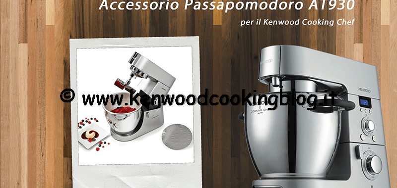 Video Passapomodoro passaverdure AT930 per Kenwood Cooking Chef