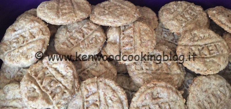 Ricetta biscotti light al limone profumati alla vaniglia Kenwood