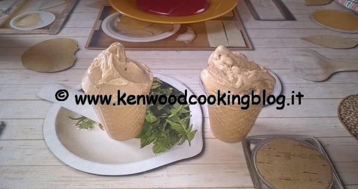 Ricetta gelato alla nocciola senza lattosio Kenwood