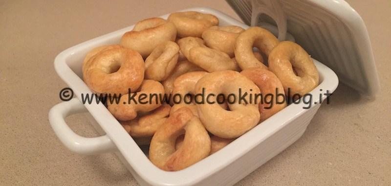 Ricetta taralli pugliesi Kenwood