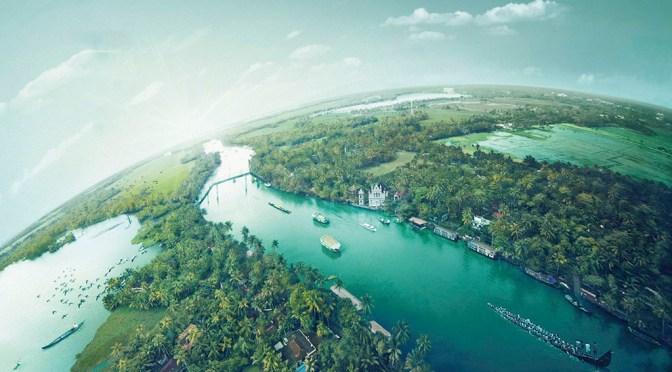 Kerala backwaters inalleppey, alappuzha