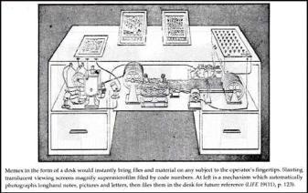 Vannevar Bush's Memex