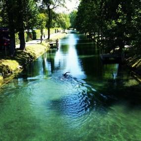 Yüzeceğim kanal