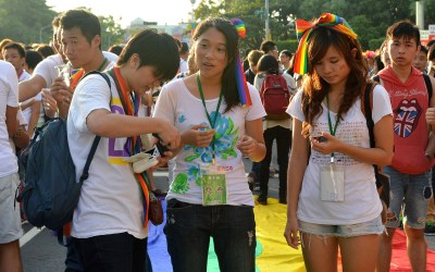 Kaohsiung First to Register Same-sex Couples