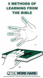 5 Methods of Learning from the Bible