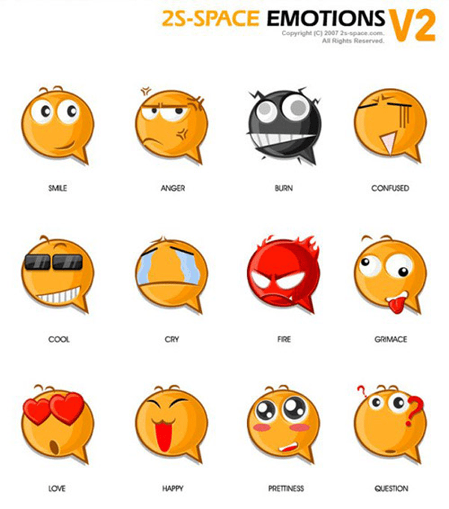 2s-Space Emotions v2