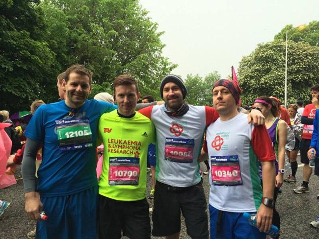 Before Edinburgh Marathon