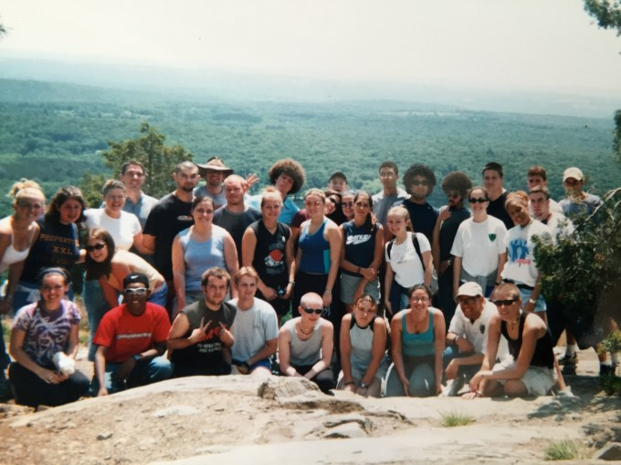 2002 Fairview Staff. I'm in the back middle, w/the luxurious hair--can you spot all three Fro Bros?