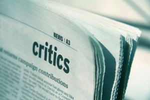 benefit of critic