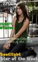 July 2012 Cover of Model Jonnie Potvin