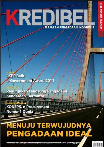 Majalah Kredibel Edisi 1