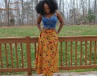 Top: Thrifted Skirt: http://www.jazzybsremixx.com Shoes: Charlotte Russe